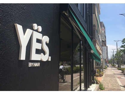 YES by hair 【イエスバイヘア】(元THIS&THAT【長居店】)(福島・野田・大正・西淀川/美容室)の写真