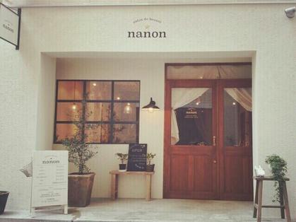 nanon 【ナノン】(神戸・元町・三宮・灘区/美容室)の写真