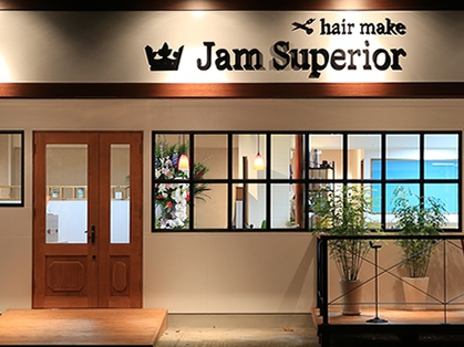 jam superior(宗像・糟屋・大野城・筑紫野/美容室)の写真
