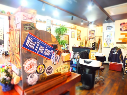 ChopLuck BARBERSHOP【チョップラックバーバーショップ】(福島・郡山・いわき・会津若松/美容室)の写真