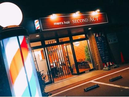 men's hair SECOND ACT(福岡市/美容室)の写真