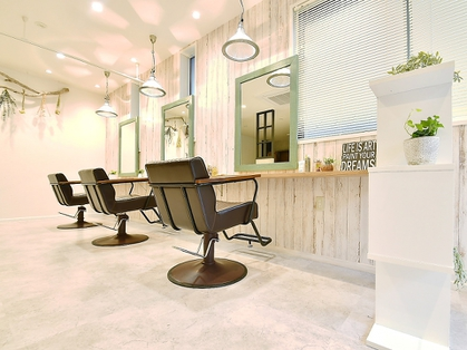 Leaf hair&relaxation(練馬・石神井・成増/美容室)の写真